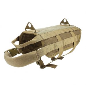 OUTRY Tactical Dog Training Harness MOLLE Vest