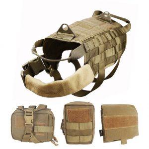 WOpet Tactical Dog Molle Vest