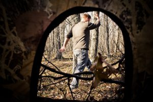 Hunting blind sizes available