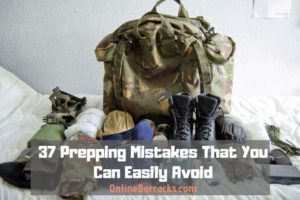 prepping mistakes to avoid