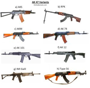 AK 47 variants