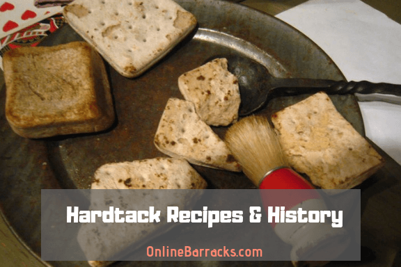Hardtack recipes and history