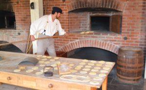 baking of hardtack