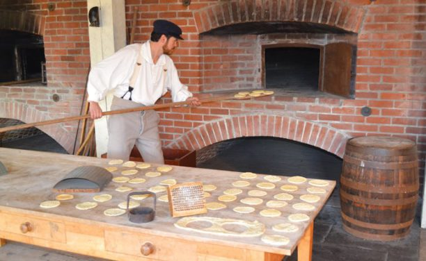 baking of hardtack