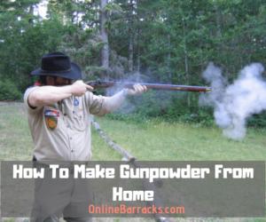 How To Make Gunpowder From Home