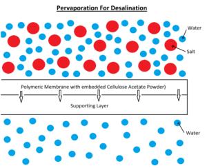 Pervaporation For Desalination