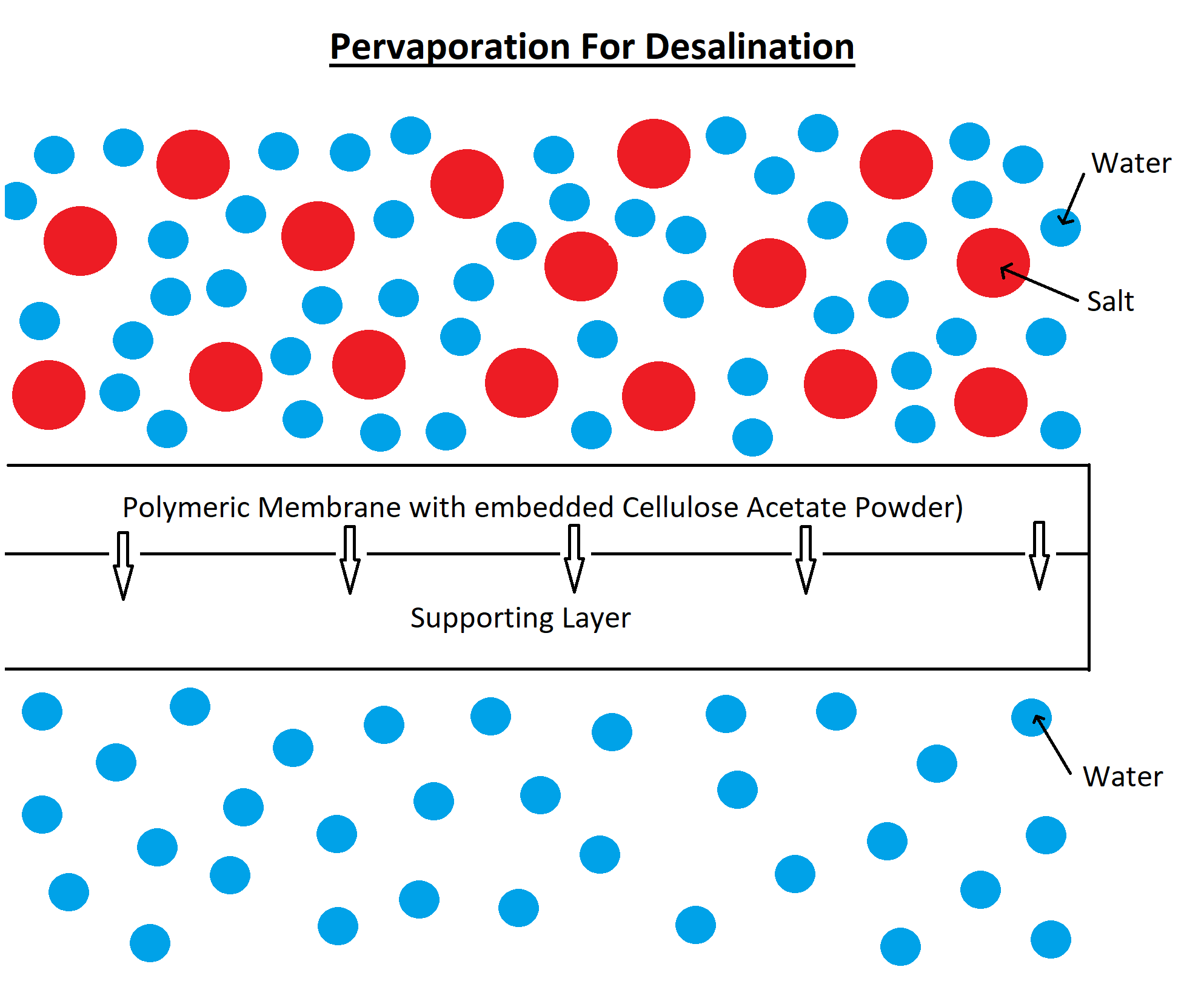 Pervaporation For Desalination