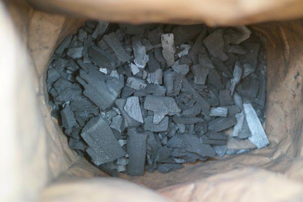 charcoal to make gun powder