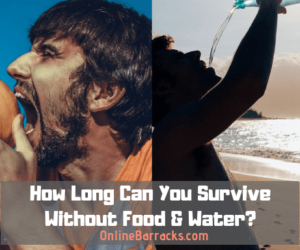 How Long Can You Survive Without Food & Water