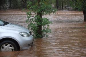 avoid flood water