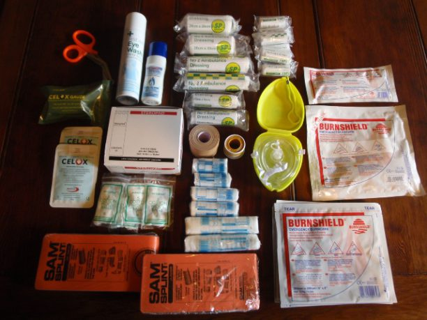 first aid kit for hurricane