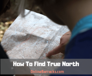 how to find true north