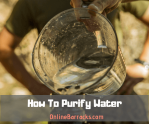 how to purify water