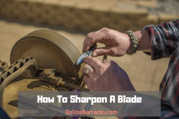 how to sharpen a blade