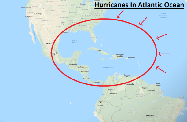 hurricane areas