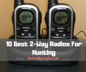 best 2 way radio for hunting
