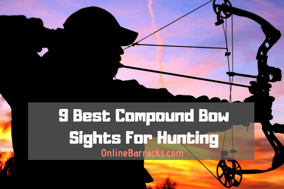 best compound bow sights for hunting