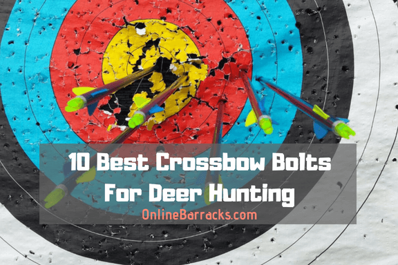 best crossbow bolts for deer hunting