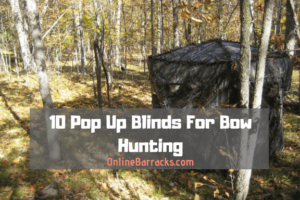 best pop up blinds for bow hunting
