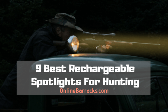 best rechargeable spotlight for hunting